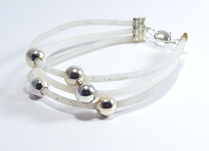 bracelet fimo translucide